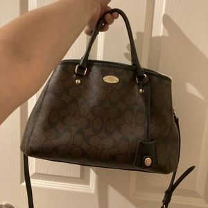 Used Coach Leather Bag